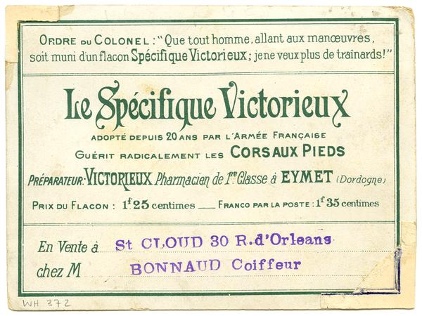 Au Regiment Specifique Victorieux La Corvee De Quartier Library