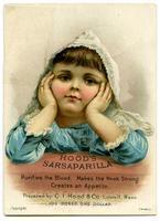 Hood's Sarsaparilla Purifies the Blood, Makes the Weak Strong, Creates an Appetite