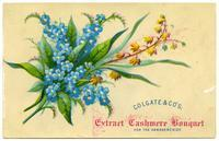 Colgate & Co.'s Extract Cashmere Bouquet for the Handkerchief