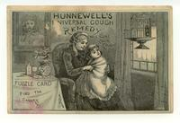 Hunnewell's Universal Cough Remedy