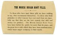 The Morse Indian Root Pills