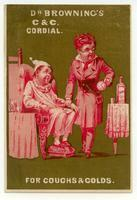 Dr. Browning's C. and C. Cordial for Coughs and Colds