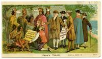Ayer's Cherry Pectoral Cures Coughs Colds &c: Penn's Treaty