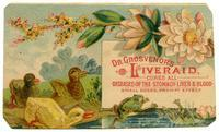 Dr. Grosvenor's Liveraid, Cures All Diseases of the Stomach Liver & Blood