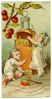 Ayer's Cherry Pectoral Cures Colds, Coughs & all Diseases of the Throat and Lungs