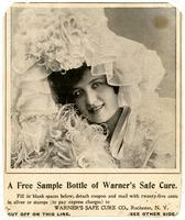 A Free Sample Bottle of Warner's Safe Cure