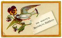 Dr. White's Specialty for Diphtheria & Sore Throat