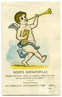 Hood's Sarsaparilla Purifies the blood, creates an appetite, makes the weak strong, and builds up the system