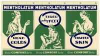 Mentholatum Gives Comfort Daily