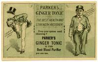 Parker's Ginger Tonic: the Best Health and Strength Restorer
