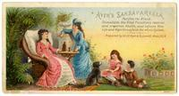 Ayer's Sarsaparilla Purifies the Blood, Stimulates the Vital Functions, restores and preserves Health…
