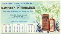 Increase Your Resistance with Wampole's Preparation: Tonic and Stimulant for Young and Old