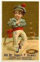 La Gigue: Old Dr. Samuel F. Stowe's Dyspepsia Cure or Compound Medicated Lozenges